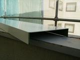 カラーガルバリウム鋼板、笠木 取り付け