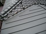 屋根葺き替え、施工後(クイックルーフ)