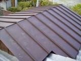 屋根葺き替え工事、瓦棒葺き